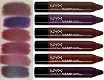 NYX Review and Swatches: Simply Vamp collection