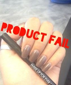 Product FAIL: Makeup Forever Aqua Liner